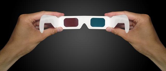 stereoskopické 3d brýle