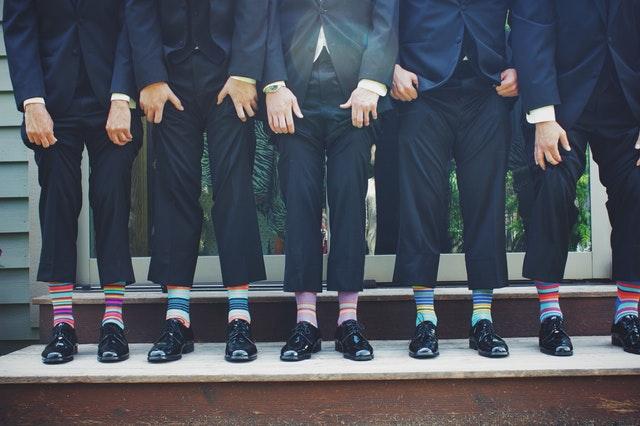 barevné ponožky pro elegány