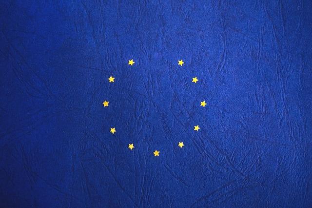 modrá Vlajka EU