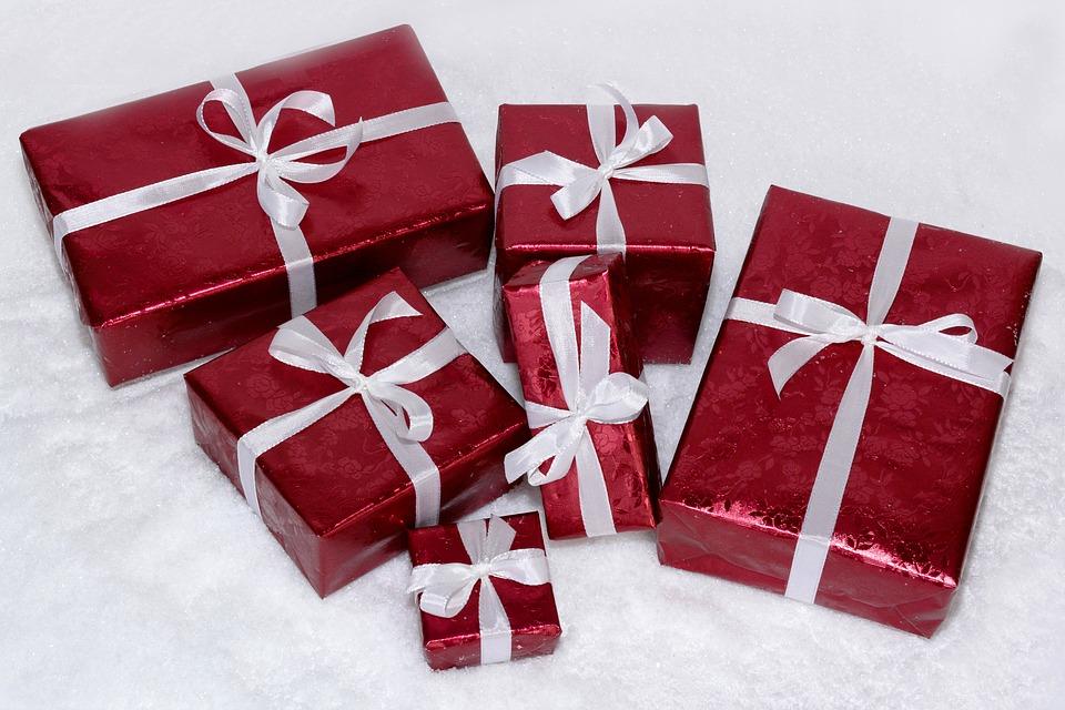 zabalené dárky